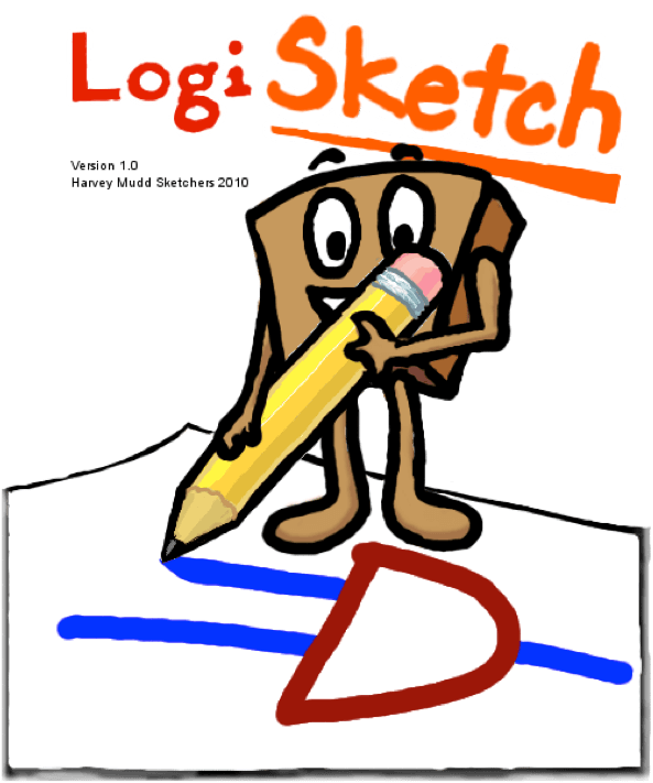 LogiSketch: A Free-Sketch Digital Circuit Design and Simulation System